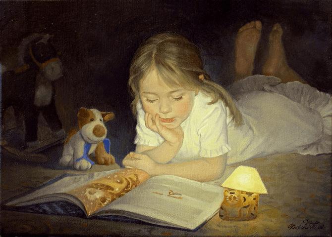 чтение ребенка или как приучить дочку читать