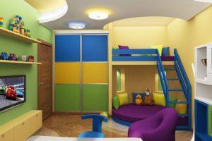 Как выбрать шкаф-купе в детскую