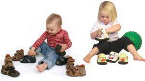 Подбор обуви для малыша