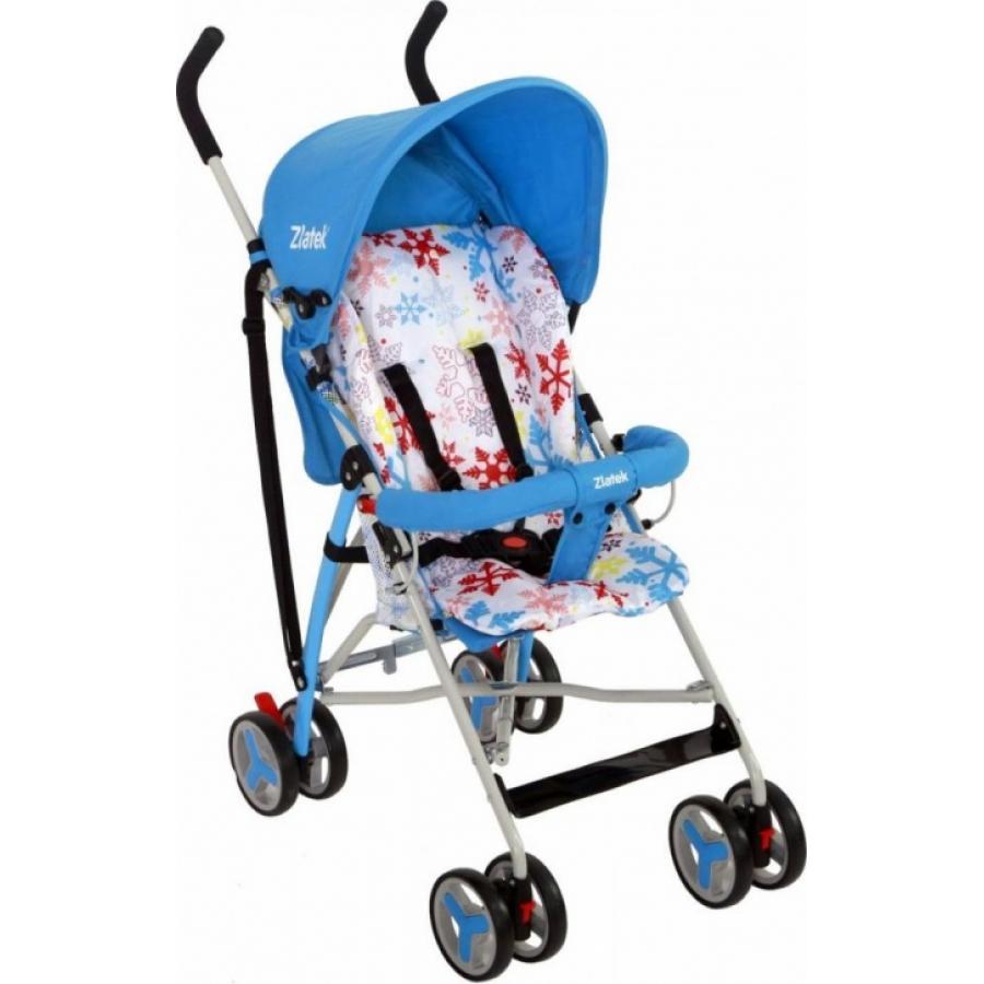 Прогулочная коляска Zlatek Funny blue (голубой)