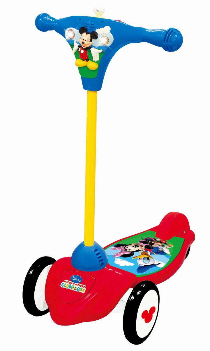 Самокат 3-колесный Микки Маус