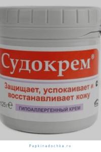 Топ – 10 кремов от опрелостей у детей. Судокрем.