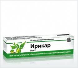 Ирикар крем 50г