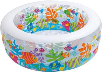 Детский надувной бассейн Intex 152х56см ''Аквариум'' 318л от 6 лет 58480