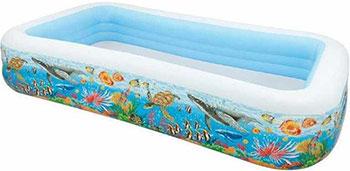 Детский надувной бассейн Intex Тропический риф 58485
