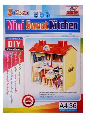 Интерьерный детский конструктор Кухня