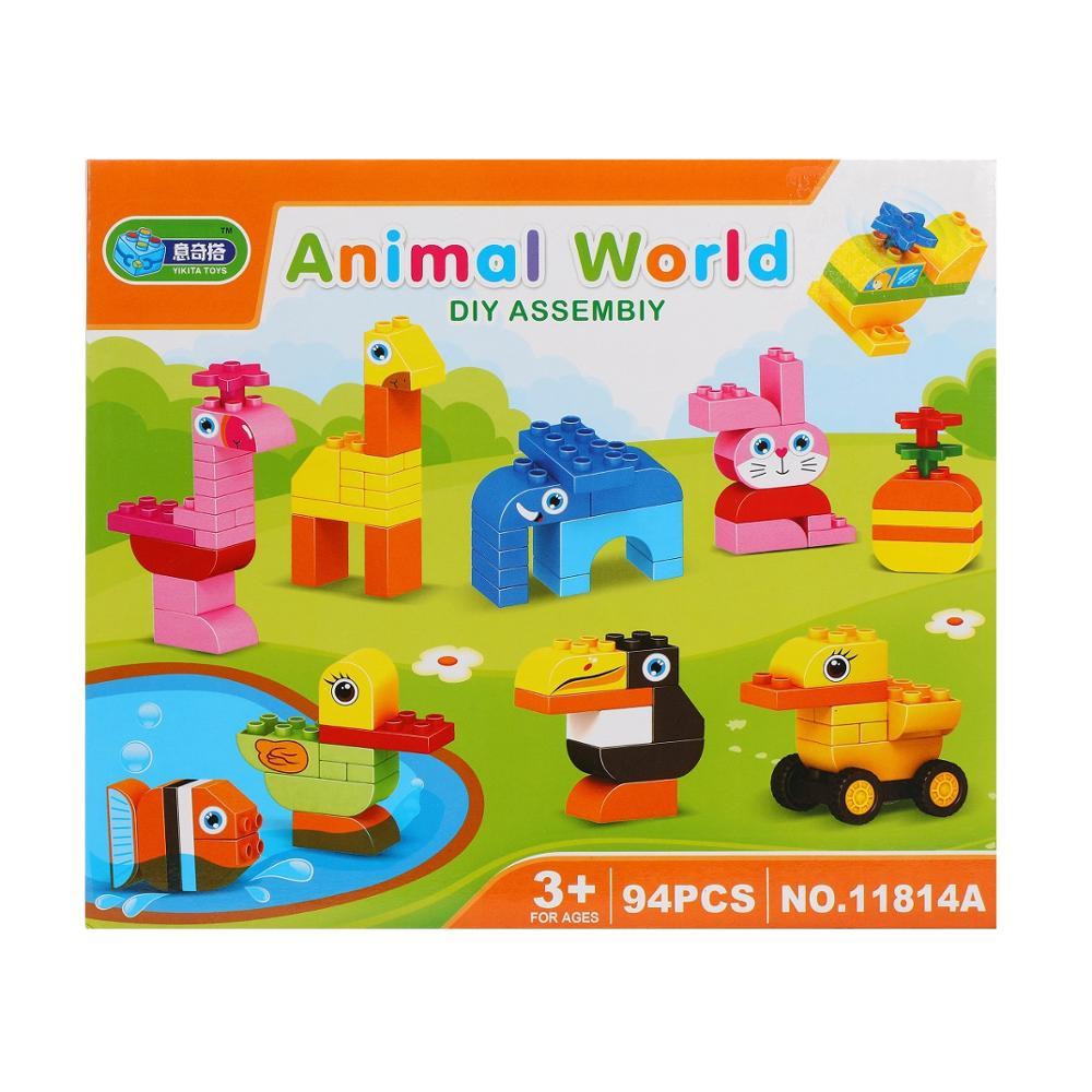 Конструктор Детский Животные