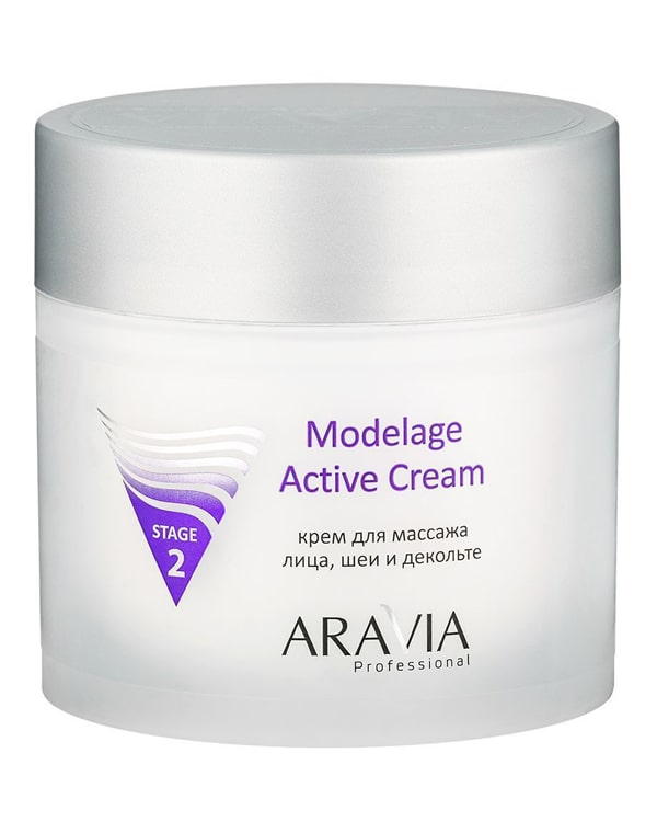 Крем для массажа Modelage Active Cream, ARAVIA Professional, 300 мл