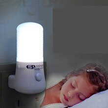 1pc ночник Novelty LED Night Light Wall Socket Bedside Lamp EU/US Plug Home Decoration Lamp for Kids Bedroom ночник детский