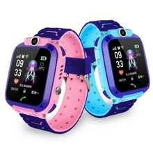 2019 Boy and girl smart watch Children's Phone Watch S9 Student Waterproof Positioning Smart Watch Male and female smart watch.