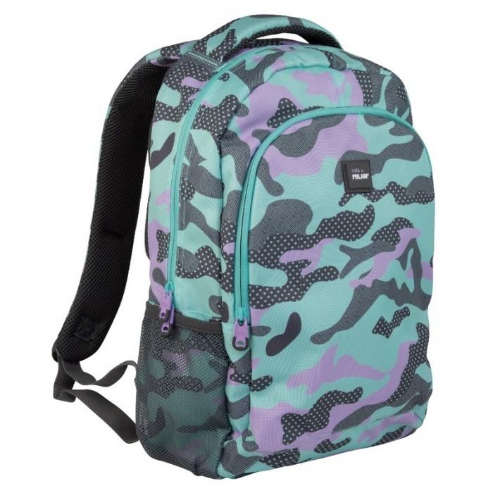 Сумки для детей Milan Рюкзак школьный Camouflage 41х30х12 см 624601GM