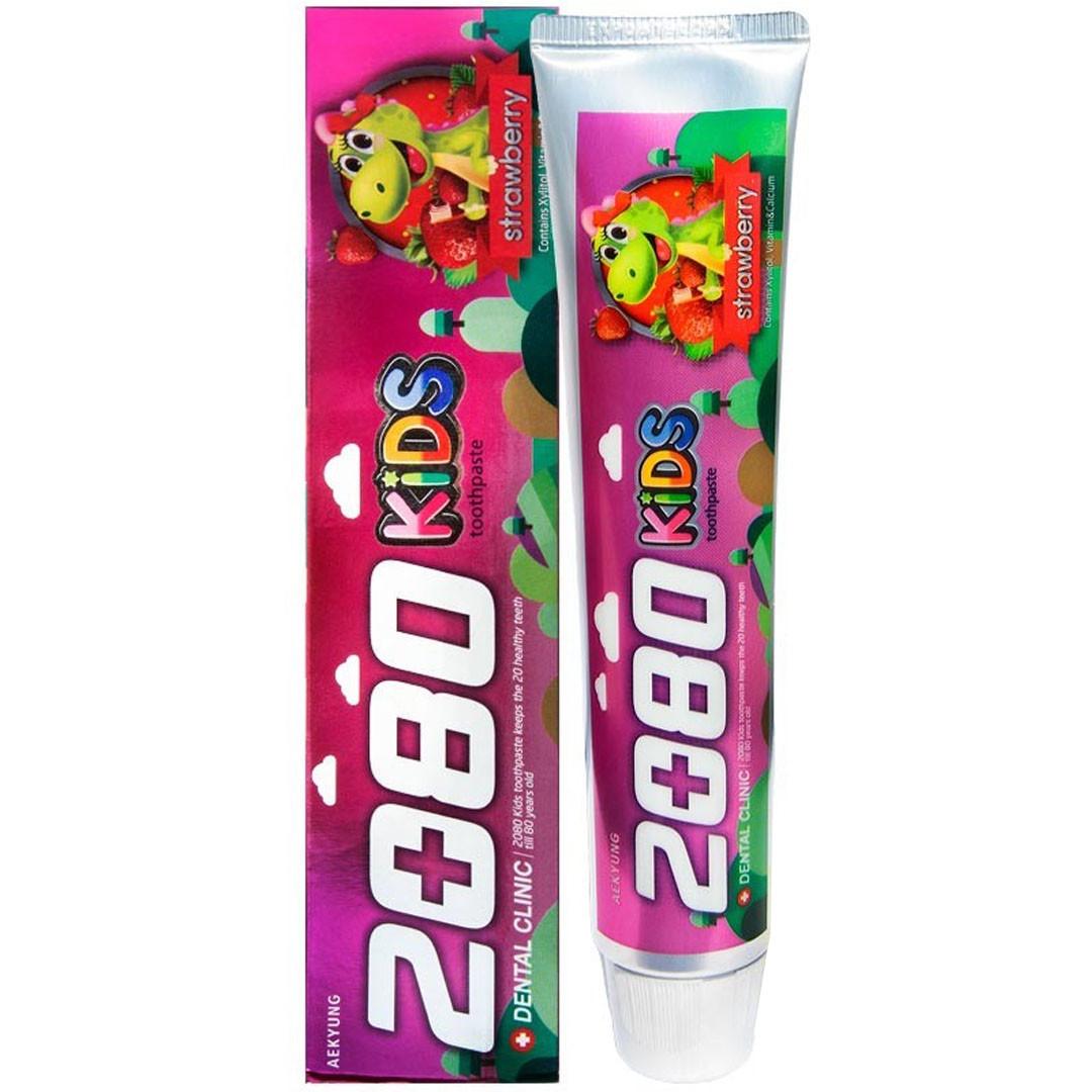 DC 2080 Паста Детская Зубная с Клубничным Вкусом, 80г