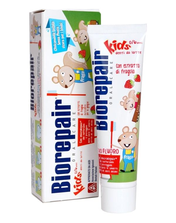 Зубная паста детская Kids, Biorepair, 75 мл