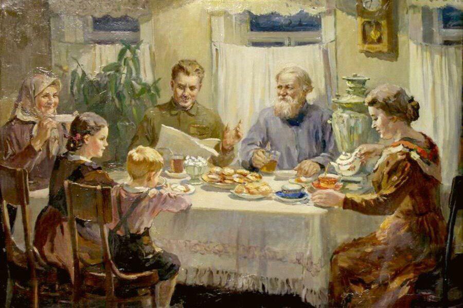 Общение внуков с бабушками и дедушками